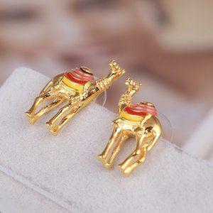Kate Spade Fun Camel Earrings